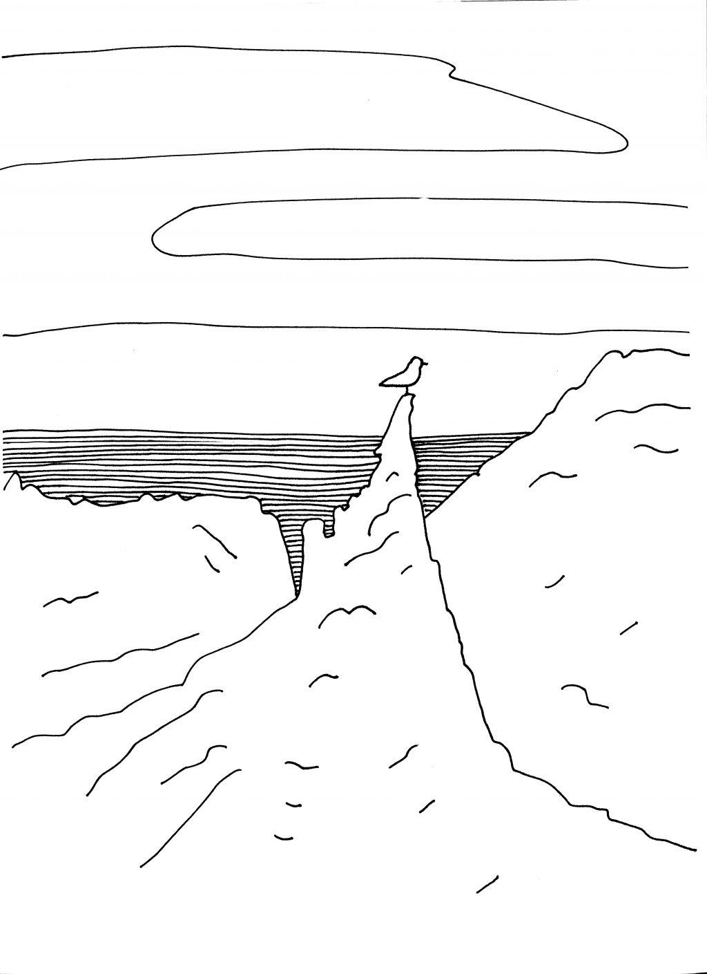 Beinahe Alaska Illustration von Arezu Weitholz